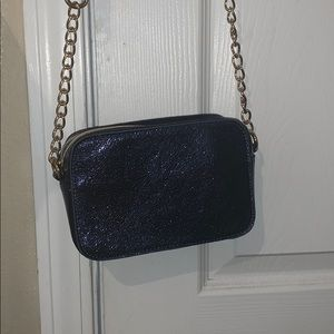 Charming Charlie Bags - Charming Charlie's blue sparkly bag